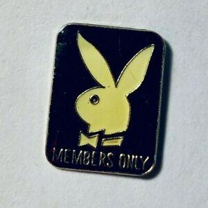 A-vintage-before-1982-PLAYBOY-symbol-MEMBERS-ONLY-old-enamel-badge