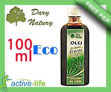 OIL SEEDS hemp cold pressed 100 ml ORGANIC Natural