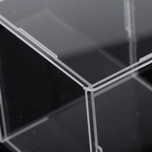 Acrylvitrine Staubdichter Schutz Modellfiguren Showbox 10x10x10cm