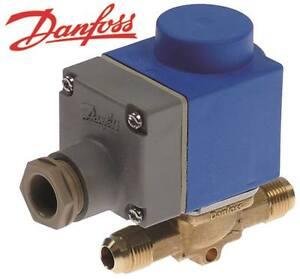 DANFOSS-EVR-6-Magnetventil-fur-Kaltetechnik-230V-DN-9-5mm-Anschluss-10mm-35bar