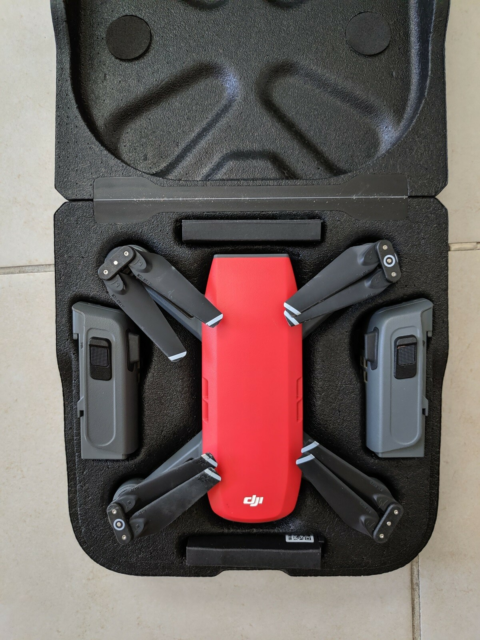 Drone, DJI Spark, Fly more combo: 3 batterier, multi…