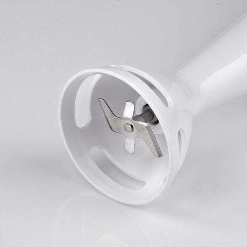 Frullatore ad Immersione Girmi MX01 Lama in acciaio Inox 170 Watt Bianco Rotex