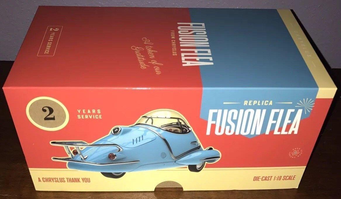 Fallout 4 Collector's Edition Fusion Flea Die-Cast Car Replica bluee Figure 5 76