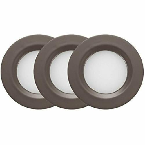 Soft White Dimmable Wall Lights LED Puck Kit Recessed Or Surface Mount Design
