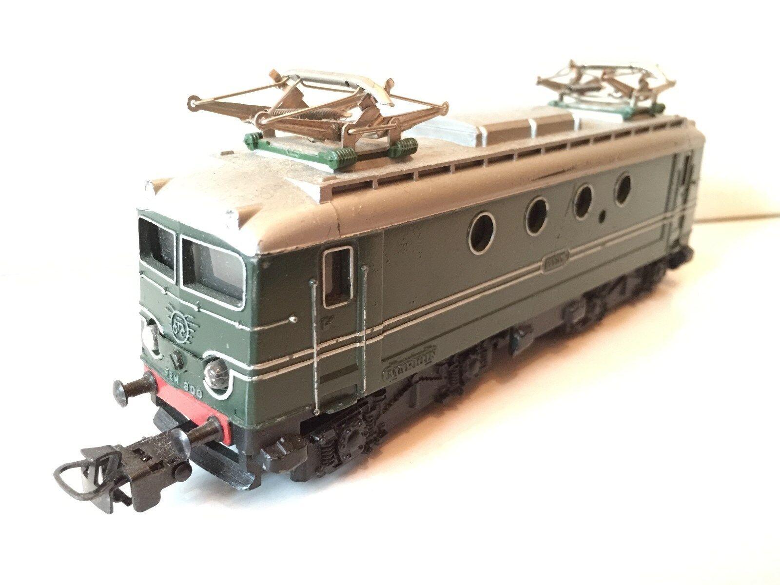 Märklin h0 e-Lok seh 800 1103 toda ejecución de metal verde