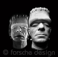 Glenn Strange Frankenstein Life Mask from Abbott and Costello Meet Frankenstein