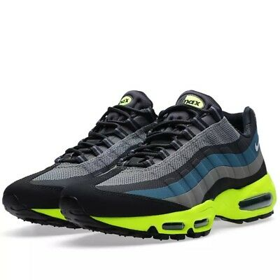 new products 11a3f 2828b Nike Air Max 95 No Sew Baskets 616190 007 UK Taille 10 Med Base Gris