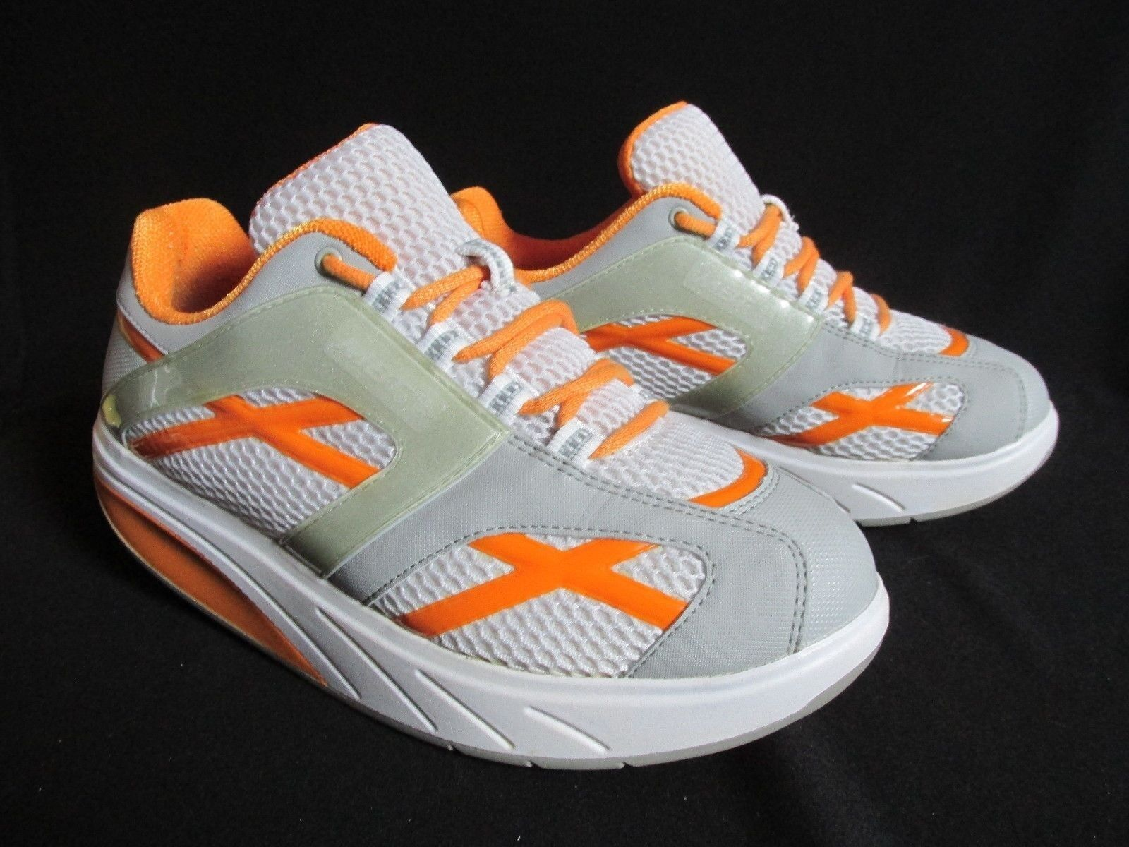 MBT M. Walk orange Synthetic Mesh Women's shoes US 9M Mint Condition