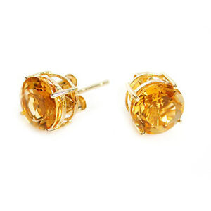 3-00-CARAT-14K-SOLID-YELLOW-GOLD-NATURAL-CITRINE-ROUND-SHAPE-STUD-EARRINGS