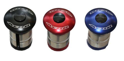 """Acor Plug mit Ahead-Kappe für 1 1//8/"""" Carbon Gabeln in diversen Farben"""