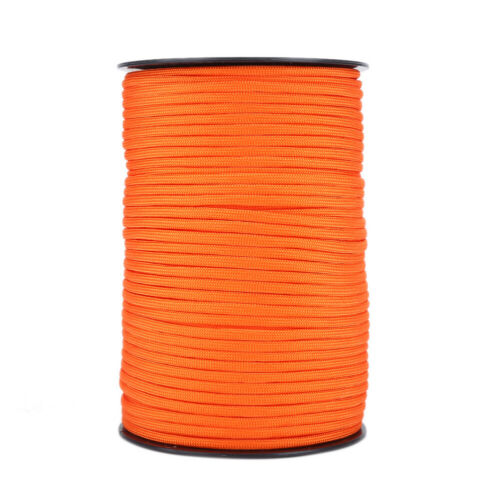 Details about  /550 Reflective Paracord Parachute Cord Lanyard 9 Strand Core 100m