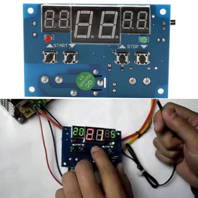 Dc12v Smart Digital Thermostat Temperature Controller NTC Sensor ...