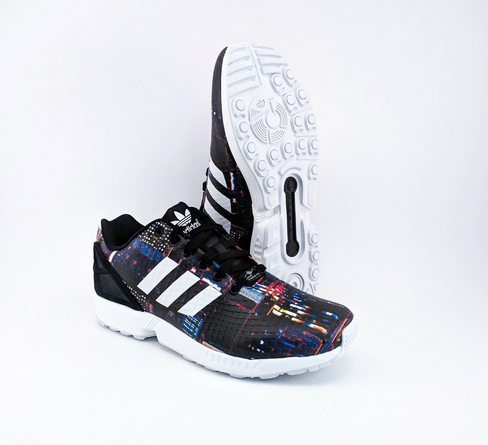 Adidas ZX Flux Tokyo Tokyo Tokyo Lights Running shoes Womens Size 10 B25834 - FREE PRIORITY 64dc19