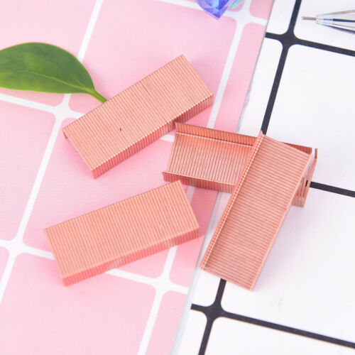 1000pcs size no12 staples box for rose gold stapler office home school suppYEDE