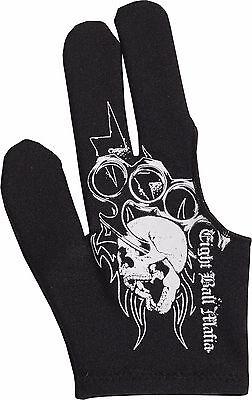 Bridge Hand Right Eight 8 Ball Mafia Pool Billiards Glove 8 Ball Mafia Glove