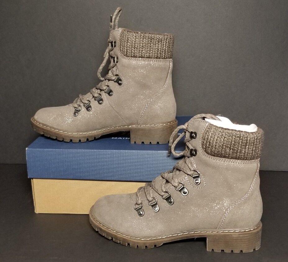 G H BASS ANDREA METALLIC WOMEN'S BOOTS MULTIPLE SIZES NEW / BOX 0773-3437-056
