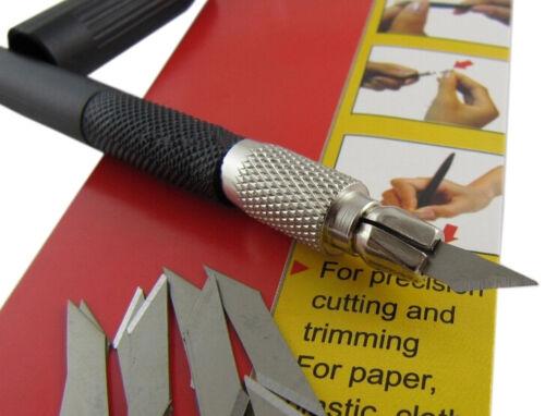 9Sea easy grip graver with 12 PCS spare blade for Gundam model carving tool