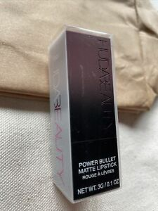 HUDA BEAUTY Power Bullet Matte Lipstick DIRTY THIRTY 3g BOXED NEW AUTHENTIC