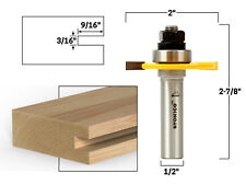 316 Slotting Cutter Router Bit Assembly 12 Shank Yonico 12105