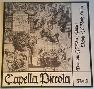 Capella Piccola Neuss Telemann Bach Purcell Lechner Valotti CP 1001 Digital