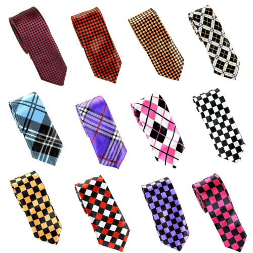 """New Fashion Mens /""""Checkers/"""" Wide 2 inches Neck ties 12 designs"""