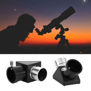 1-25-034-90-Degree-Diagonal-Adapter-Erecting-Image-Prism-Zenith-Mirror-fr-Telescope