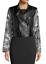thumbnail 1 - RACHEL ROY NWT $139 Charlie Moto Jacket in Gray Floral & Black, Size M     BB32