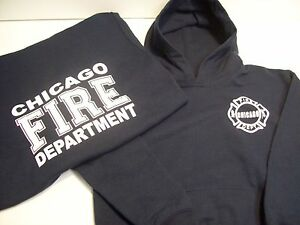 Chicago Fire Department Toddler Navy Pullover Hoodie