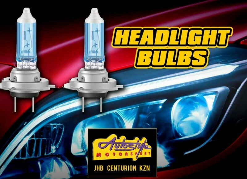 Replacement headlight globes assorted sizes and brands.  H1, H3, H4, H7, HB11, HB3, D1S, D3S etc  z
