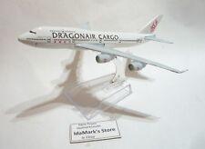 DRAGONAIR CARGO AIRLINES KA Die cast Model in Box Boeing B747 15cm Plane Toy