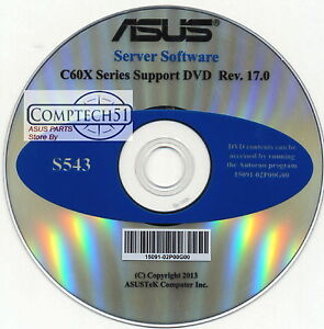Details about ASUS GENUINE SERVER SUPPORT DISK INTEL C600 Chipset Device  Software S543