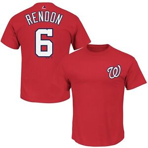 new arrival a6389 f8472 Details about Washington Nationals #6 Anthony Rendon Player T-shirt Big &  Tall MLB