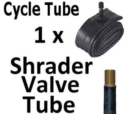 """1 x 20 /""""valve schrader de inner cycletube 1,75 1,85 1,95 2.05 2,125 vélo"""