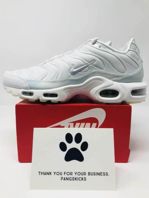 Nike Air Max Plus SE 'Ice Blue' White 862201 101 Women's Size 10 = Men's 8.5