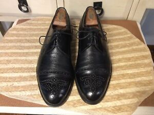 89f953a4a4cdd Vintage Johnston   Murphy Cellini Italy Cap Toe Oxfords Mens dress ...