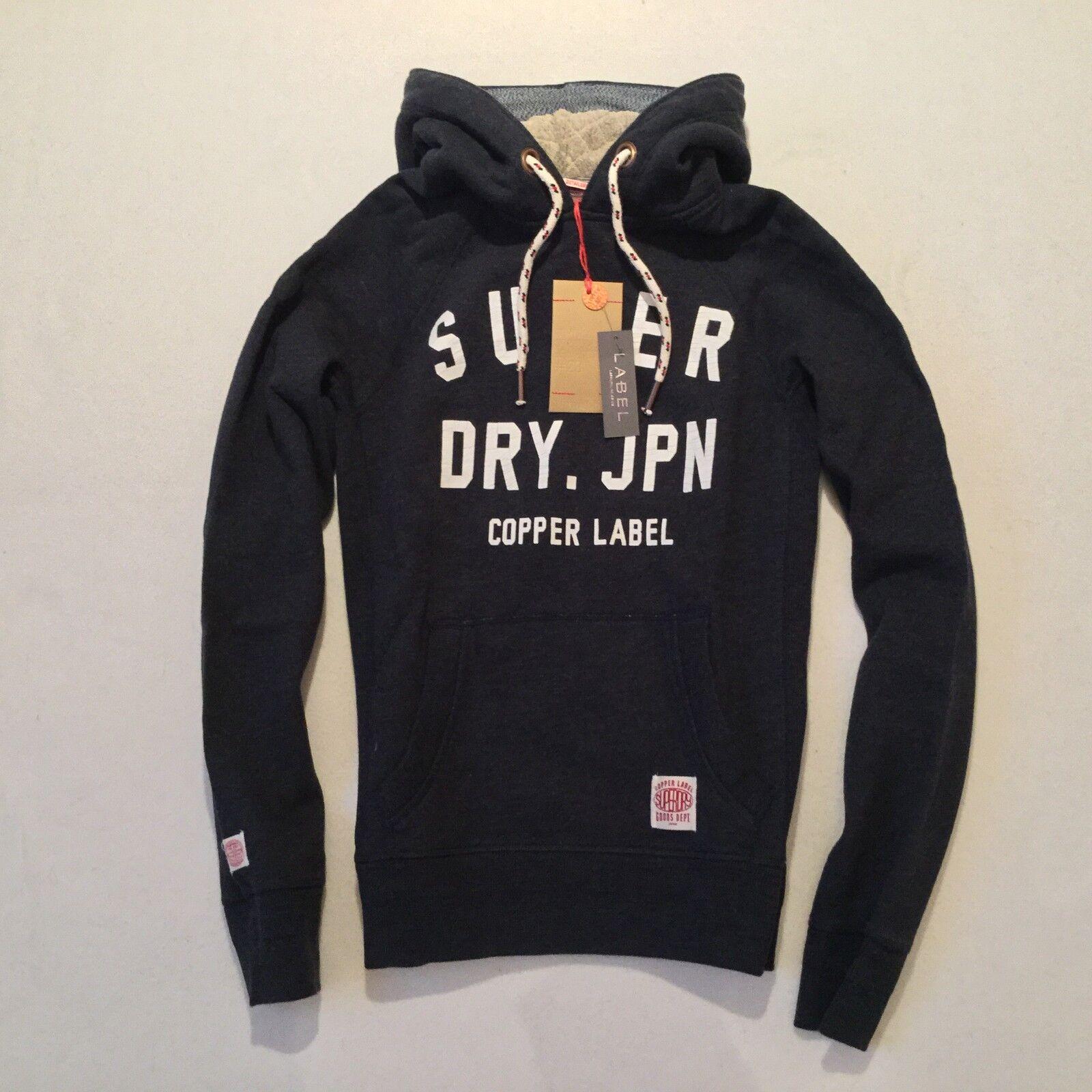 Herren Superdry Copper Label Piston Hoodie sweatshirt  hoody rrp