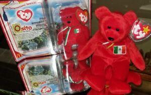 3322fa7684f Osito  The Mexican Bear TY Beanie Baby Original   Teenie Beanie