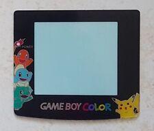 NEU Screen Lens Pokemon Pikachu, Bisasam Game Boy Color - Gameboy GBC Linse