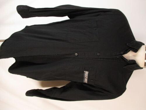Harley Davidson Mens Black Long Sleeve Cotton Shir