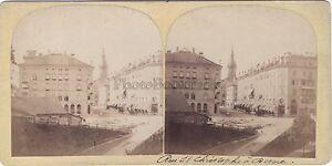 Bern Berna Suisse Stereo Vintage Albumina Ca 1860