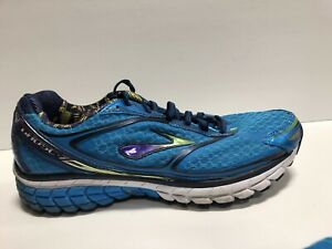 Brooks-Ghost-7-Womens-Running-Shoes-Blue-Size-9-5-M