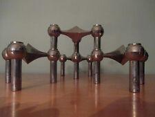 "Portacandele in ""Diamante Forma di Croce"" design classico Panton space age epoca 60/70er"
