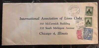 Süd- & Mittelamerika Herzhaft 1951 ~ Neiva Colombia Luftpost Abdeckung Zu Lion Club Assoc Chicago Il Usa Preisnachlass