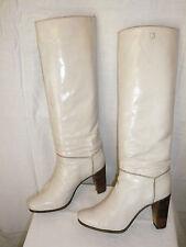"""Bottes Vintage 1982  """"Blanc cassé """"  -  TED LAPIDUS    ---   T.39"""