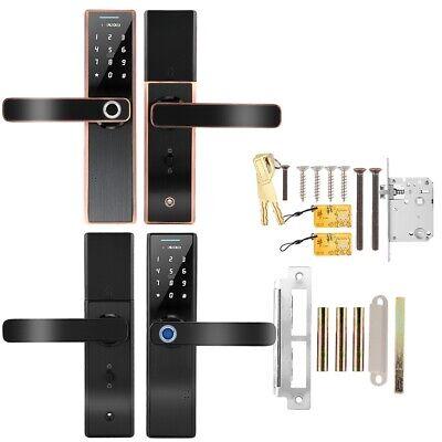 Elektronische Fingerabdruck Türöffner Türschloss Passwort IC karte mit Schlüssel