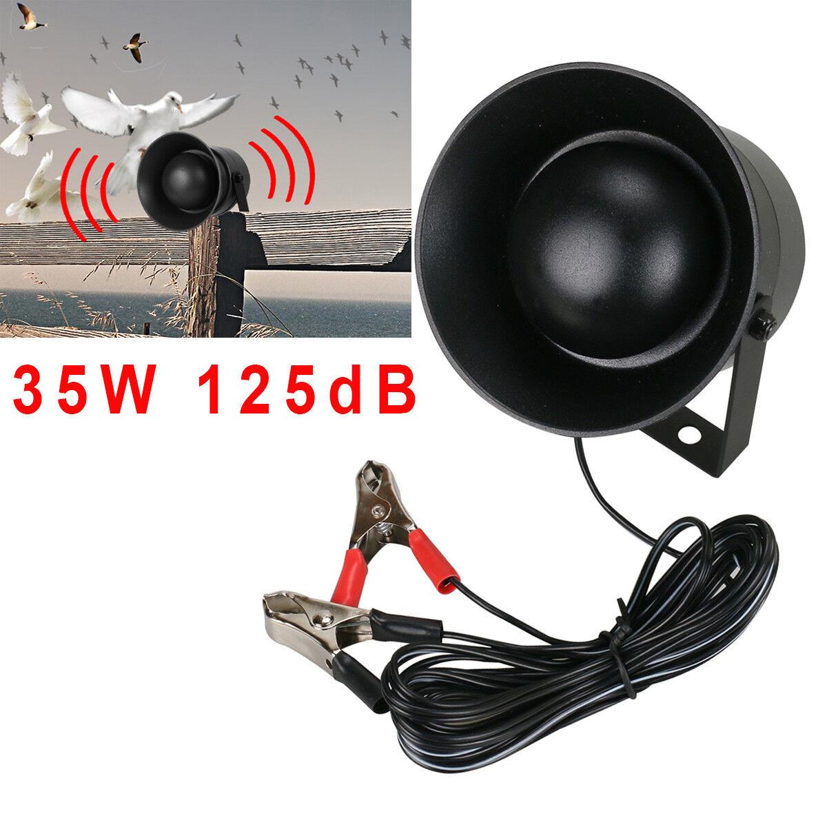 35W 125dB Outdoor MP3 Player Hunting Bird Decoy LED Flashlight Bird Caller