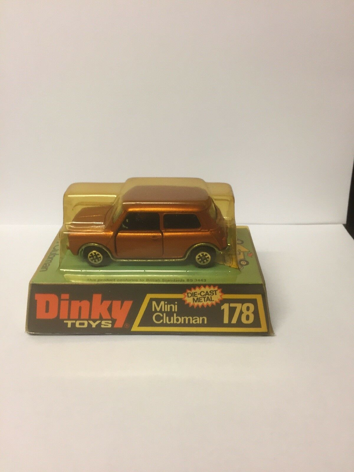 Vintage dinky 178 mini clubman boxed 1975