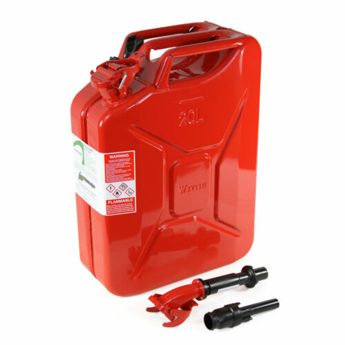 3 Pack Details about  /Wavian 3009 5.3 Gallon 20 Liter Authentic Fuel Jerry Can with Spout