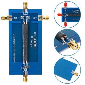 RF-SWR-Reflection-Bridge-0-1-3000MHZ-Antenna-Analyzer-VHF-VSWR-Return-Loss-New
