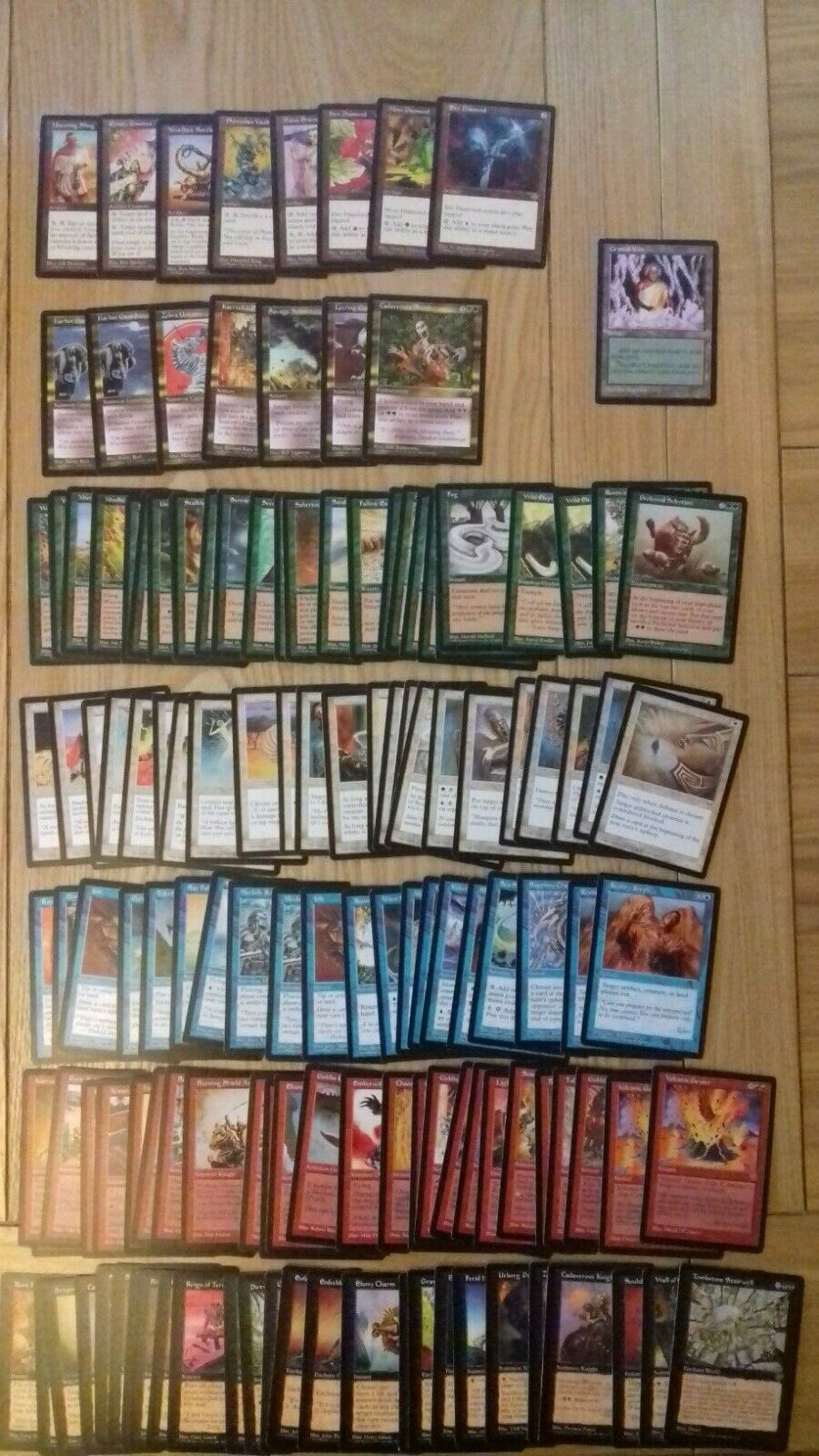 Magic The Gathering Cards - Mirage - - - Mixed Set - over 135 cards b34e32